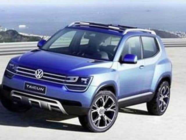 vw taigun,Volkswagen to display compact SUV Taigun at Auto Expo,SUV Taigun