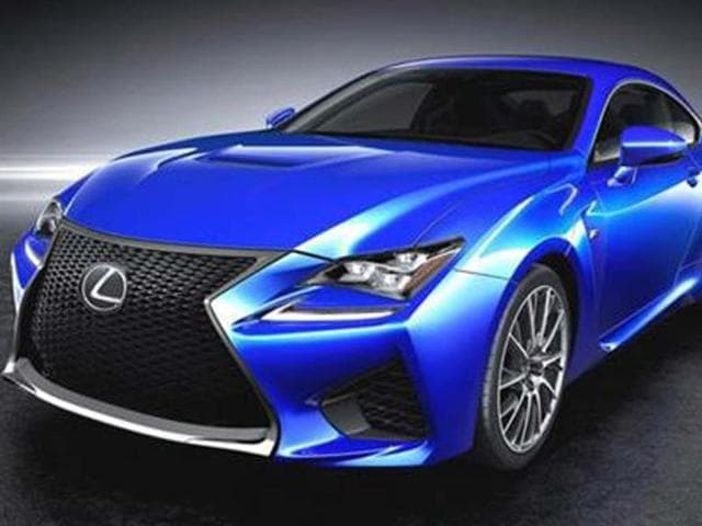 New-Lexus-RC-F-to-rival-BMW-M4,Lexus RC-F,V8 engine