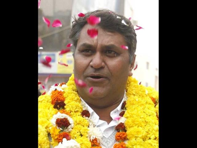 AAP HT poll,Aam Aadmi Party,Vinod Kumar Binny