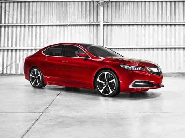Acura searches for perfect blend of performance and comfort with TLX Prototype,Acura TLX Prototype,Red Carpet Athlete