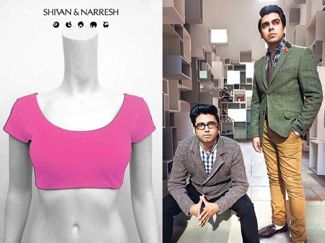 The-blouse-created-by-designer-duo-Shivan-and-Narresh-for-breast-cancer-survivors