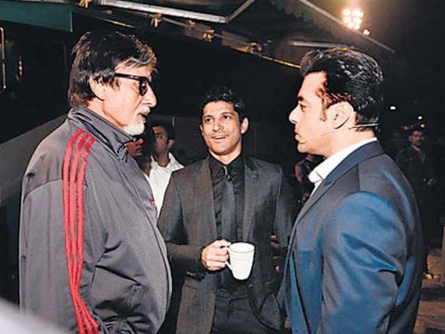 Amitabh Bachchan,Salman Khan,Farhan Akhtar