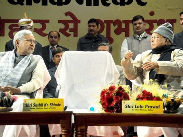 Nitish Kumar,Sushil Kumar Shinde,Lalu Prasad
