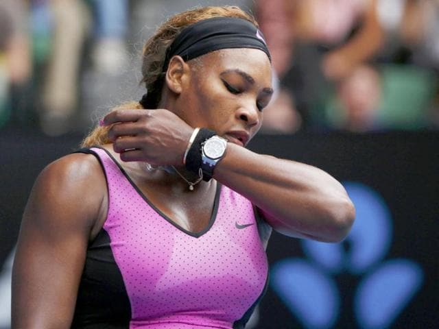 Serena-Williams-of-the-United-States-wipes-away-sweat-during-her-women-s-singles-match-against-Ana-Ivanovic-of-Serbia-at-the-Australian-Open-in-Melbourne-Reuters-Photo