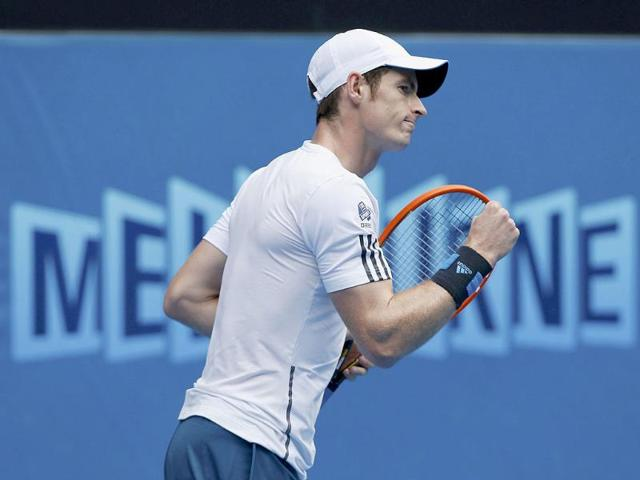 Andy-Murray-of-Britain-reacts-during-his-men-s-singles-match-against-Stephane-Robert-of-France-at-the-Australian-Open-2014-in-Melbourne-Reuters-Photo