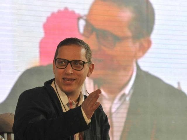 Adrian-Levy-in-conversation-with-Vikram-Chandra-on-his-book-The-Siege-during-the-Jaipur-Literature-Festival-Vipin-Kumar-HT