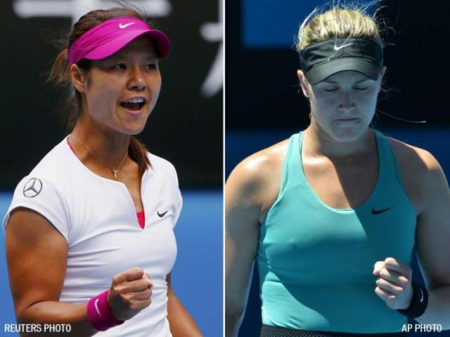 Li-Na-of-China-L-and-Eugenie-Bouchard-of-Canada-are-now-into-the-semi-finals-of-the-Australian-Open-Agency-Photo