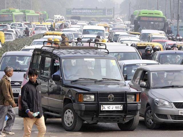Vasant Vihar car crash
