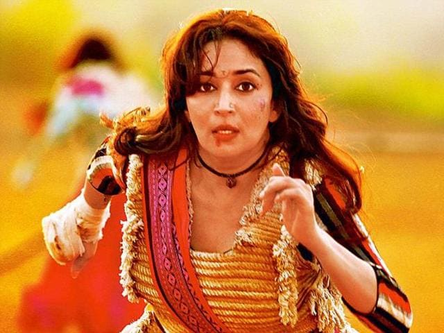 Madhuri Dixit in action avatar.