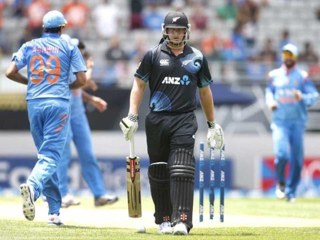 Jesse Ryder,Doug Bracewell,India vs New Zealand ODI