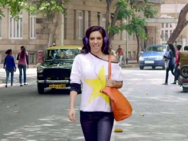 Preeti Desai in a still from Kaboom, a song from One by Two.