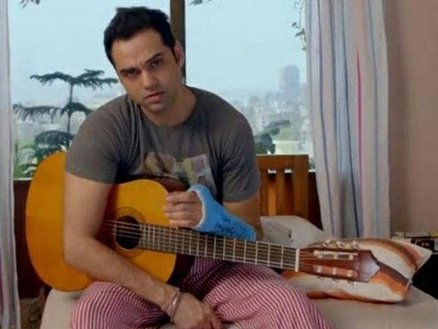 That is certainly the loser-look on Abhay Deol