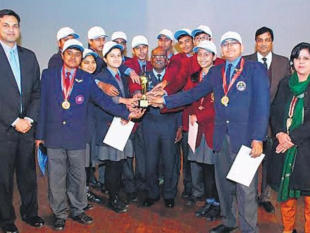 Aero club,flying competition,Air Force Bal Bharti School