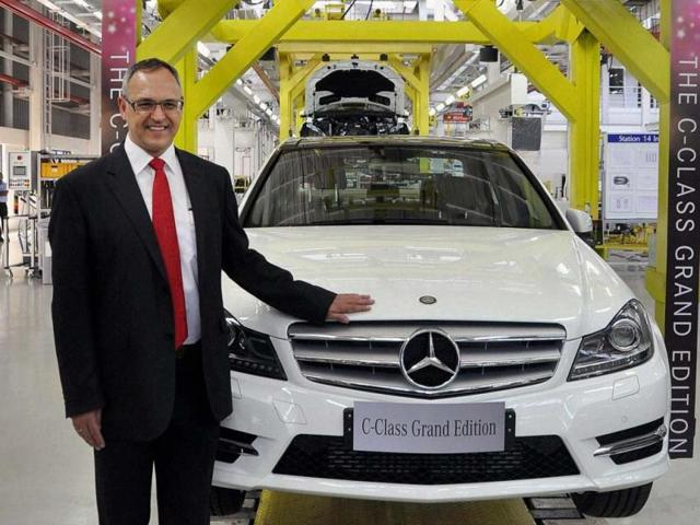 Mercedes Benz launches C-class Grand Edition,German luxury car,Mercedes-Benz