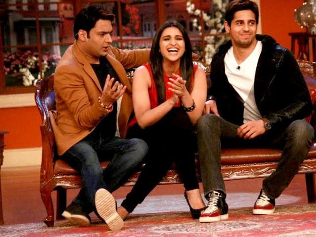 Parineeti Chopra and Siddharth Malhotra will be seen on Comedy Nights with Kapil promoting their film Hasee Toh Phasee. Browse through.