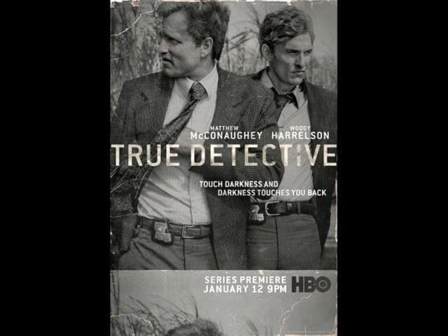 Matthew McConaughey,Woody Harrelson,True Detective