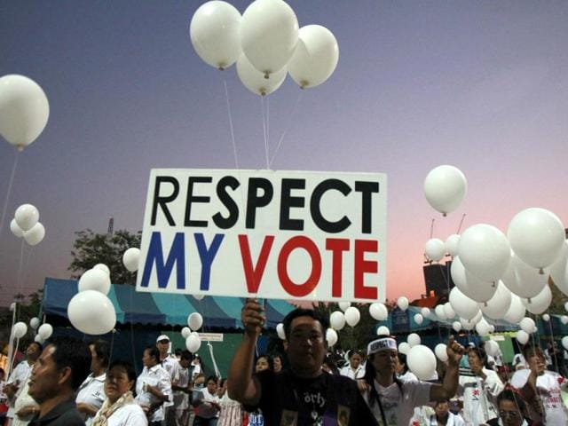 thai elections,Thailand elections,Thai protesters