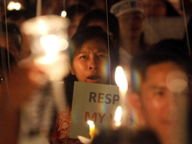 Anti-government protest in Thailand