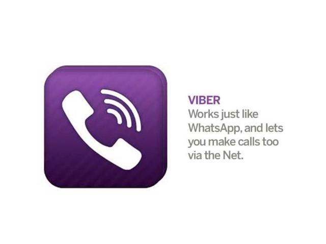 Viber,Line,Hike