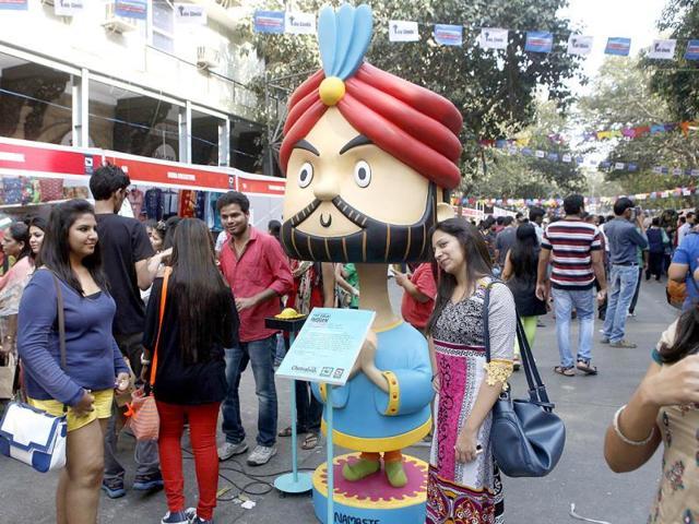 People-enjoying-themselves-at-the-Kala-Ghoda-Arts-Festival-in-Mumbai-Kalpak-Pathak-HT