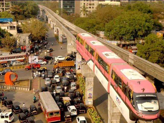 Mumbai Monorail disruption