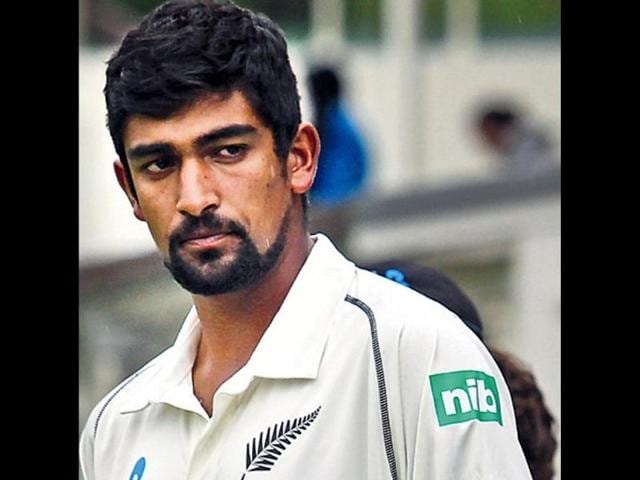 Inderbir Singh Sodhi,Ish Sodhi,first Test in Auckland