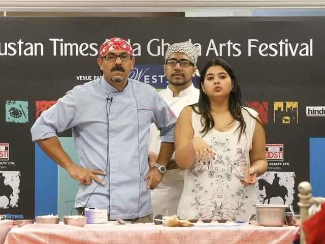 Kala Ghoda Arts Festivals,Mumbai,Sassy Spoon restaurant