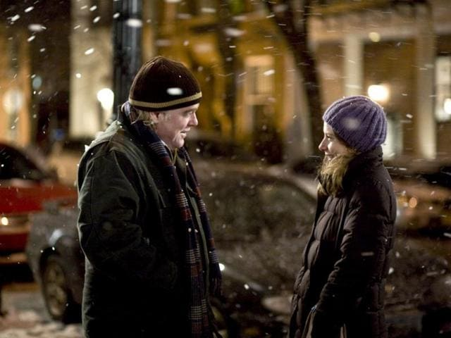 Phillip Seymour Hoffman and Amy Ryan in a scene from Jack Goes Boating. (AP Photo)