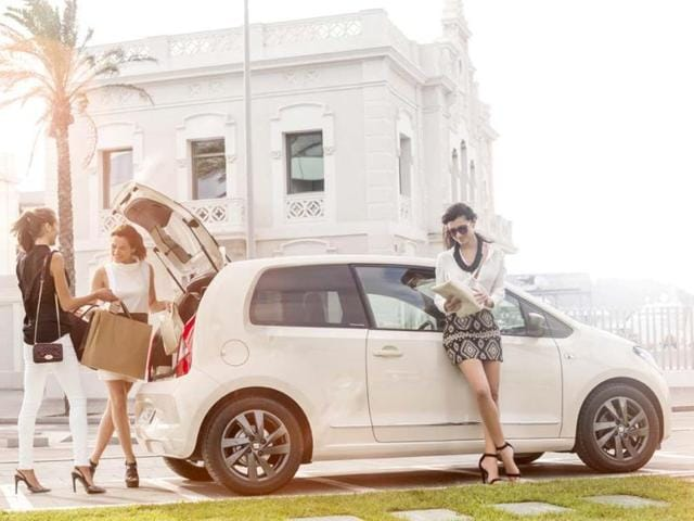 MANGO designs special edition Seat Mii city car