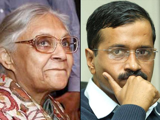 A-combo-photo-of-former-Delhi-chief-minister-Sheila-Dikshit-and-Aam-Aadmi-Party-leader-and-present-Delhi-chief-minister-Arvind-Kejriwal-Agency-photos
