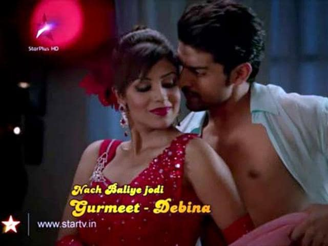 Gurmeet-and-Debina-in-Nach-Baliye