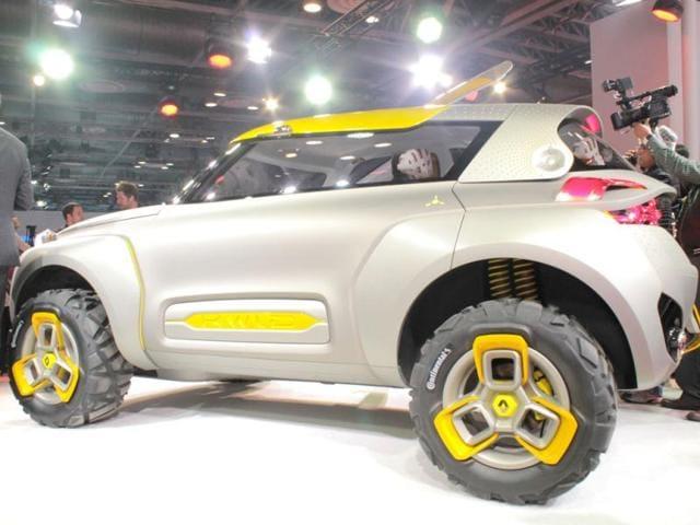 Verwonderlijk Photos: Take a look at Renault's trendy concept car KWID | autos DK-63