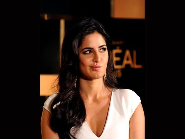 Katrina Kaif seems to be saying: Naah, not interested! (AFP Photo)