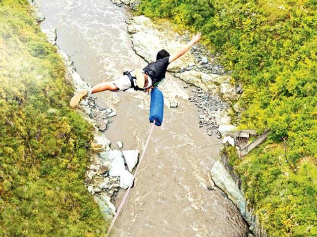 Adventure tourism,Bungee jumping,Travel