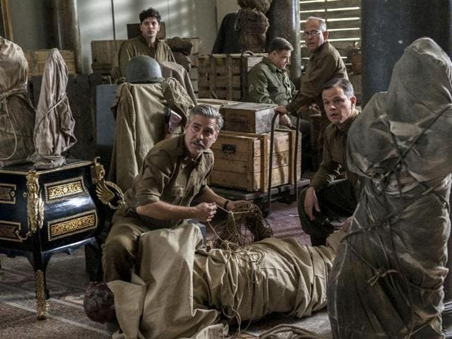The Monuments Men,George Clooney,movie review