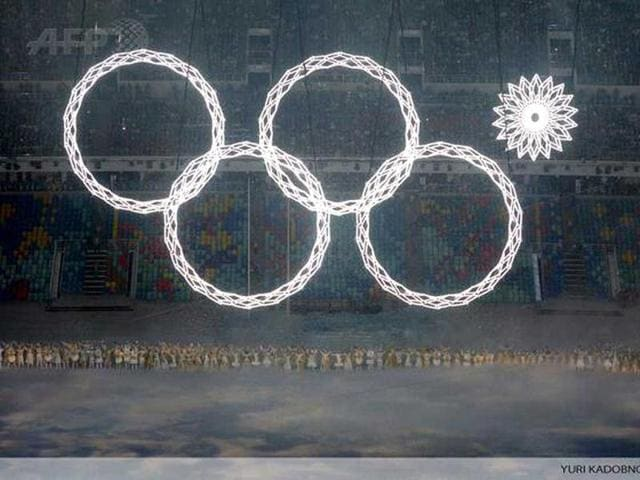 Power cut? Fifth Olympic ring fails to light up at Sochi