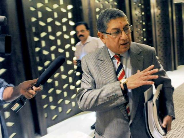 I can be both BCCI and ICC chief; no rule against that: Srinivasan