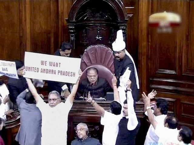 Pepper spray leaves stain on Indian democracy: MPs