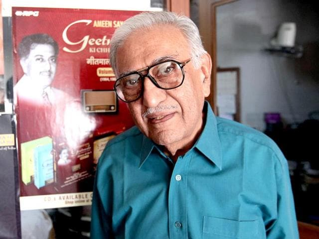 Music has enriched our lives, says veteran broadcaster Ameen Sayani