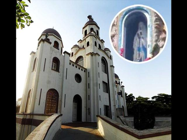 Our Lady of Lourdes Shrine,chennai,mother mary