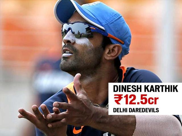 Lucky to be caught in bidding battle: Dinesh Karthik