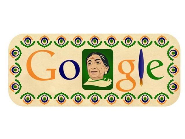 Google,Sarojini Naidu,The Bird of Time