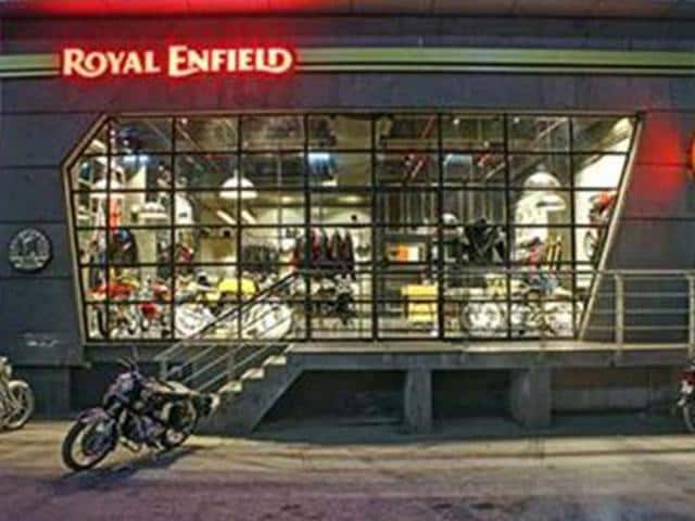 royal enfield,Royal Enfield opens Concept Store in Delhi