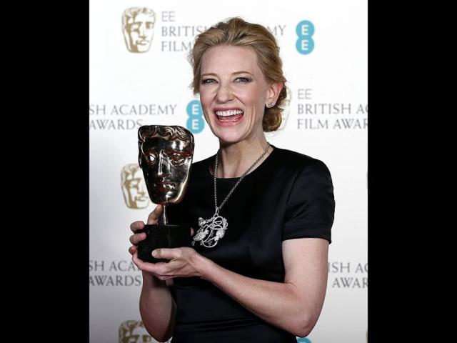 Cate-Blanchett-celebrates-winning-Best-Actress-for-Blue-Jasmine-at-the-British-Academy-of-Film-and-Arts-BAFTA-awards-ceremony-at-the-Royal-Opera-House-in-London-on-February-16-2014-Reuters-Photo
