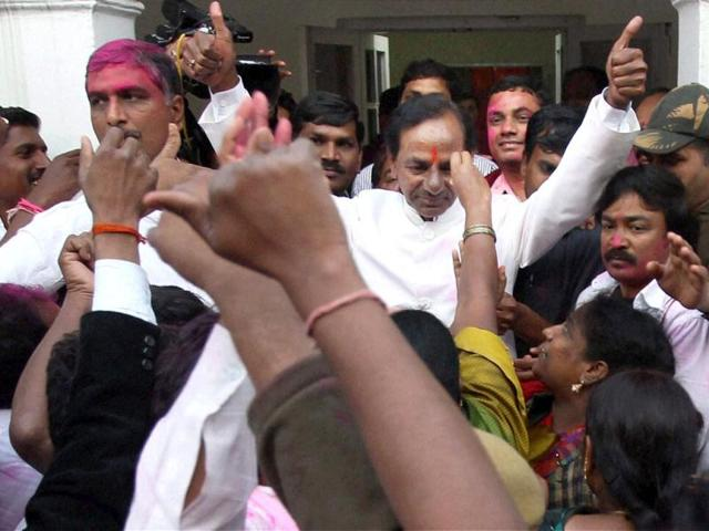 Telangana bill passed,K Chandrasekhar Rao,Telangana rashtra samithi