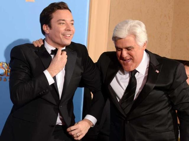 Comedians-Jimmy-Fallon-and-Jay-Leno-AFP-Photo
