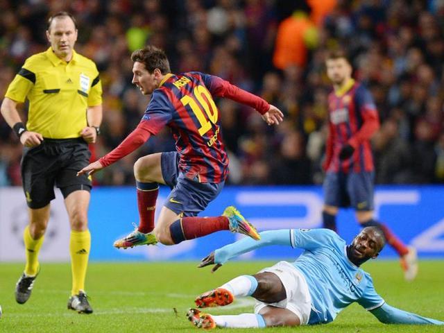 Lionel Messi,Barcelona,Real Madrid