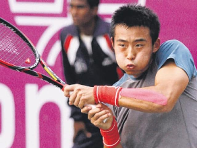 Ze-Zhang-started-playing-tennis-at-the-age-of-six-choosing-it-over-dancing-and-judging-by-the-experiences-he-has-already-had-it-s-doubtful-that-he-regrets-the-decision-Virendra-Singh-Gosain-HT-Photo