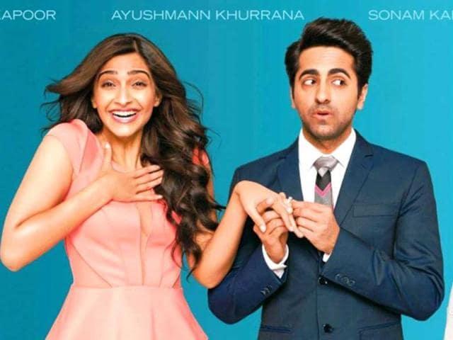 Ayushmann Khurrana,Sonam Kapoor,Tahira Kashyap