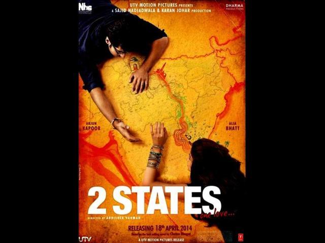 ALIA BHATT,ARJUN KAPOOR,TWO STATES